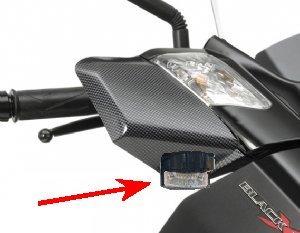 Feu de penetration moto